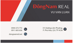 Mẫu Thiết Kế Name Card Công Ty Đông  Nam