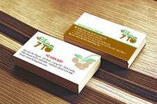 Mẫu Thiết Kế Name Card Nhãn 7 Tô