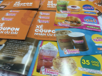 Mẫu In Coupon Book DUNKIN DONUT