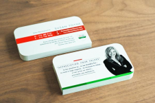 Mẫu Thiết Kế Name Card Bo Tròn 3 Góc