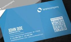 Mẫu Thiết Kế Name Card Cá Nhân Có QR code