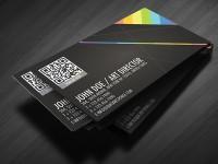 Mẫu Thiết Kế Name Card Có QR code