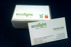 Mẫu Thiết Kế Name Card EcoLight