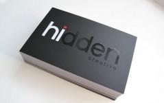Mẫu Thiết Kế Name Card Hidden Creative