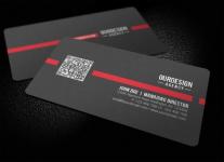Mẫu Thiết Kế Name Card QR Code Chuyên Nghiệp