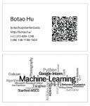 Mẫu Thiết Kế Name Card QR Code Đơn Giản