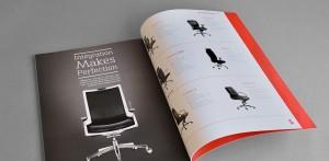 Mẫu In Catalogue Giới Thiệu Sản Phẩm Ghế Văn Phòng