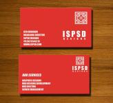 Mẫu Thiết Kế Name Card Đỏ Ấn Tượng