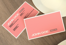 Mẫu Thiết Kế Name Card Đơn Giản Đến Ấn Tượng