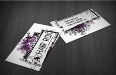 Mẫu Thiết Kế Name Card Họa Tiết Đẹp