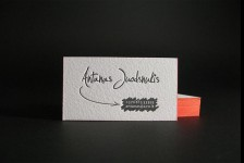Mẫu Thiết Kế Name Card Antanas