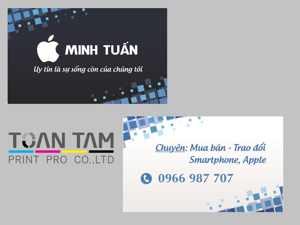 Mẫu Thiết Kế Name Card Minh Tuấn
