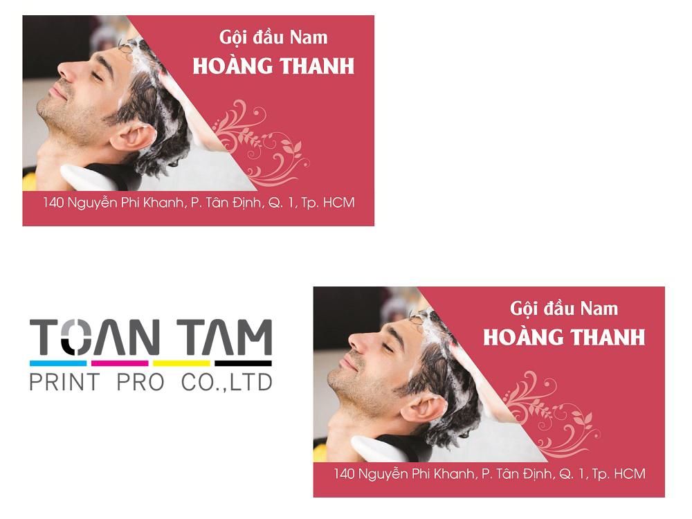 Mẫu Thiết Kế Name Card Gọi Đầu Hoàng Thanh