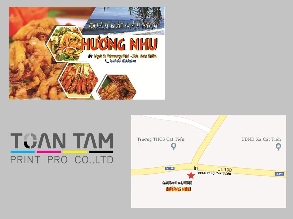 Mẫu Thiết Kế Name Card Hương Nhu