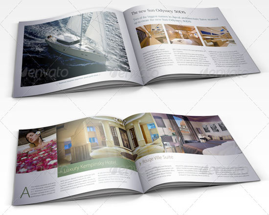 mau in catalogue hotel
