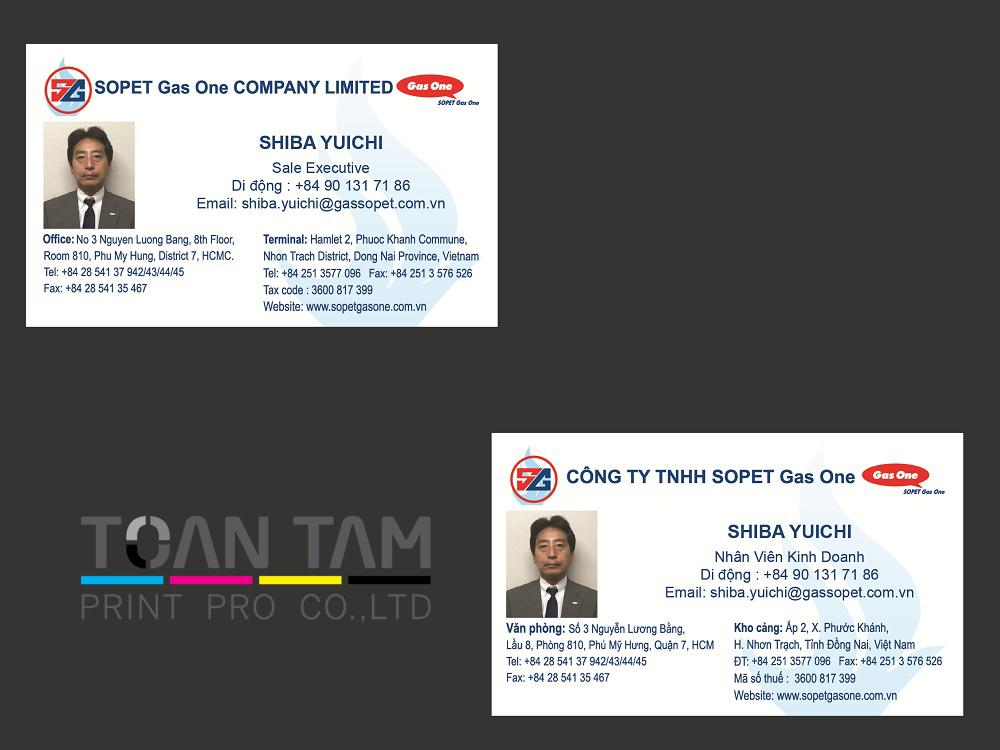 mau thiet ke name card SG
