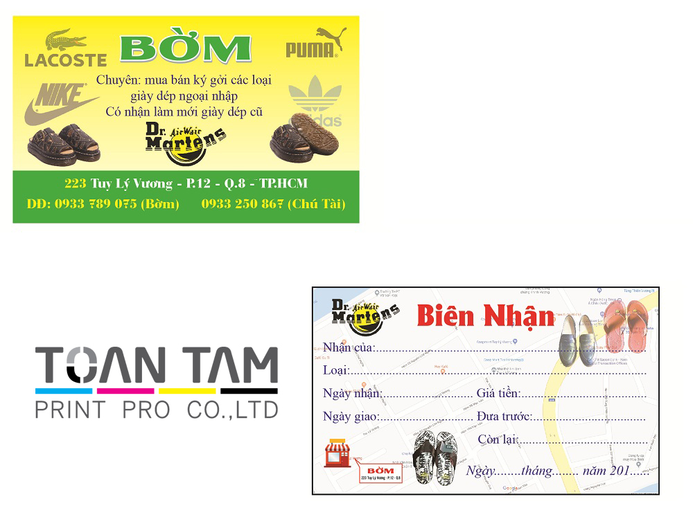 mau thiet ke name card shop bom