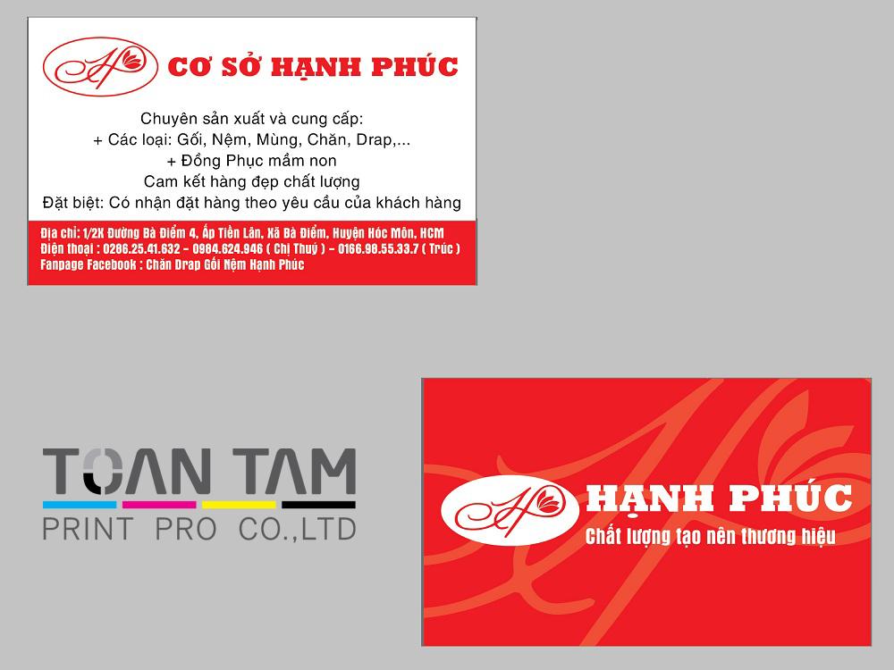 mau thiet ke name card hanh phuc