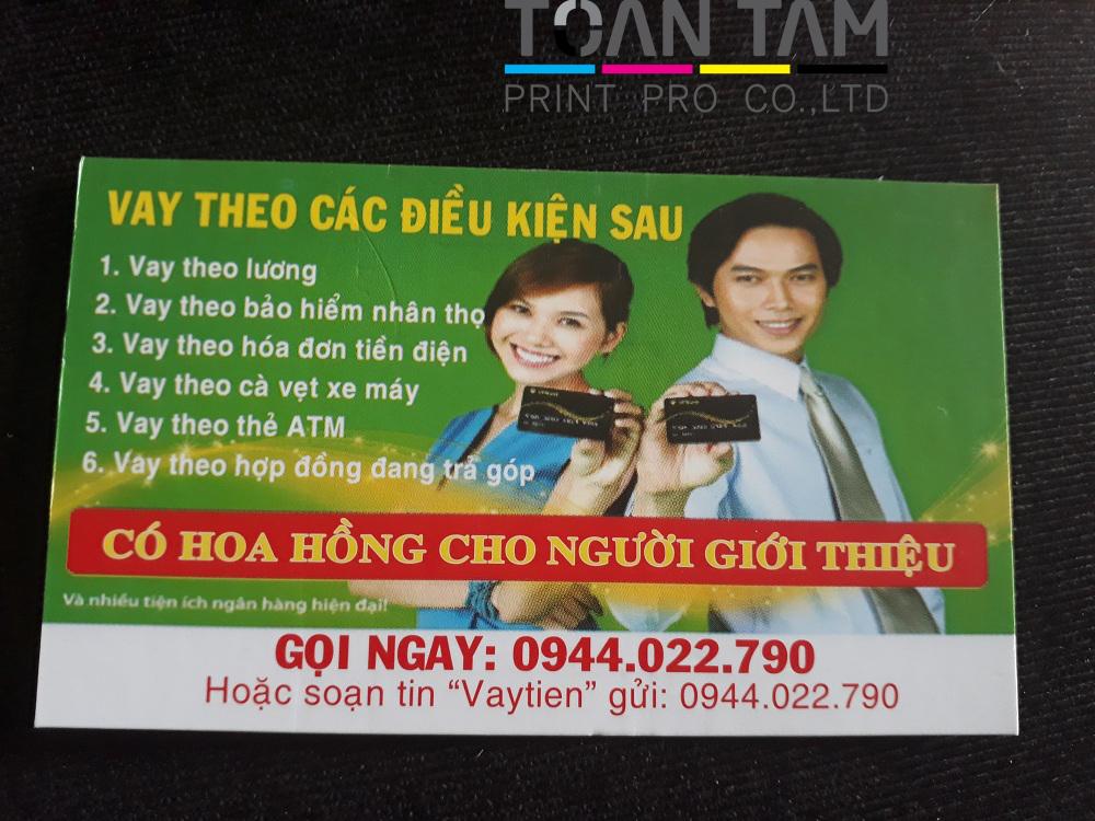 mau in name card cho vay tien