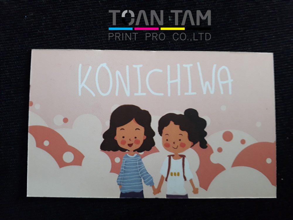 mau thiet ke name card konichiwa